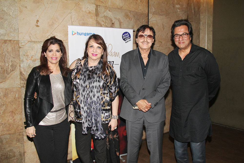 With Bina Aziz, Mrs.Zarine Khan and Mr.Sanjay Khan