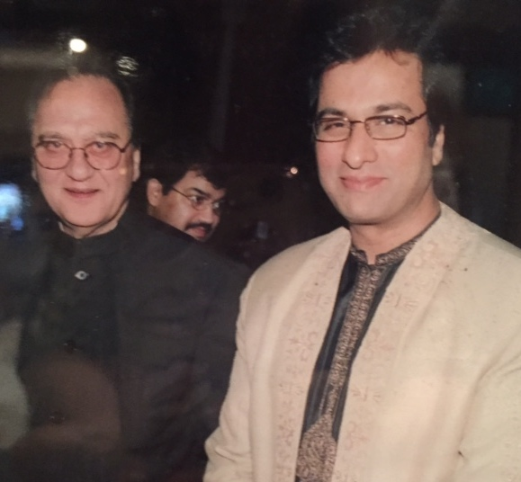 With Sunil Dutt Saheb 2002