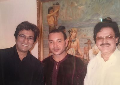 With his Highness King Mohd XI of Morocco and Sanjay Khan Saheb 2003