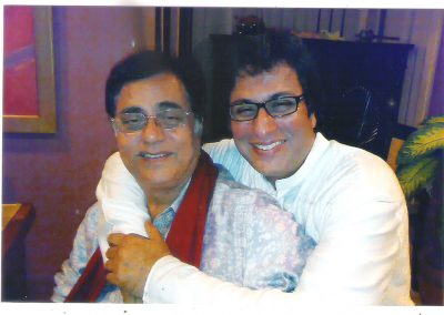 With the late Jagjit Singh 2011