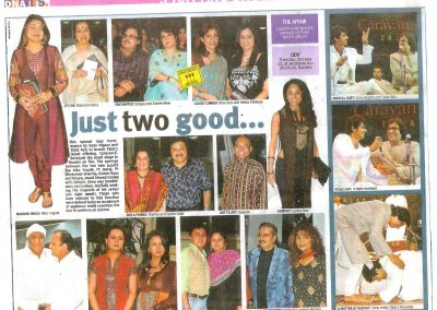 Launch of Caravan e Ghazal in DNA 15th Jan 09