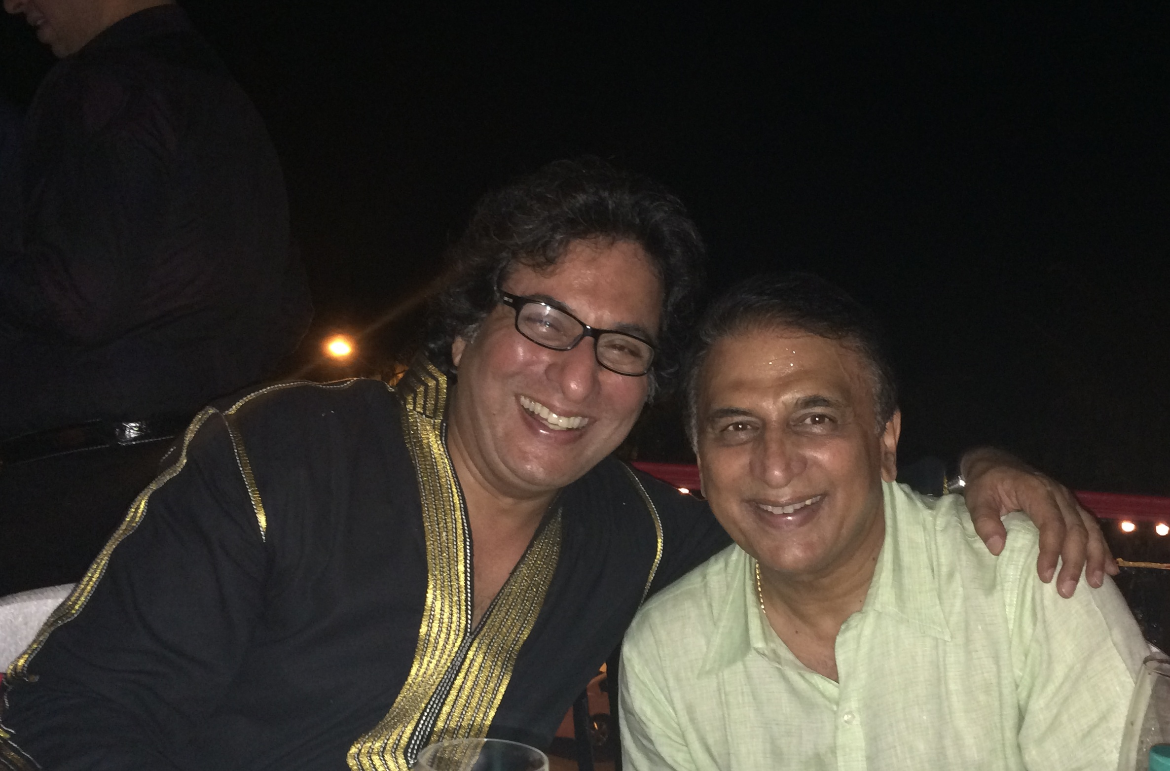 With Mr. Sunil Gavaskar