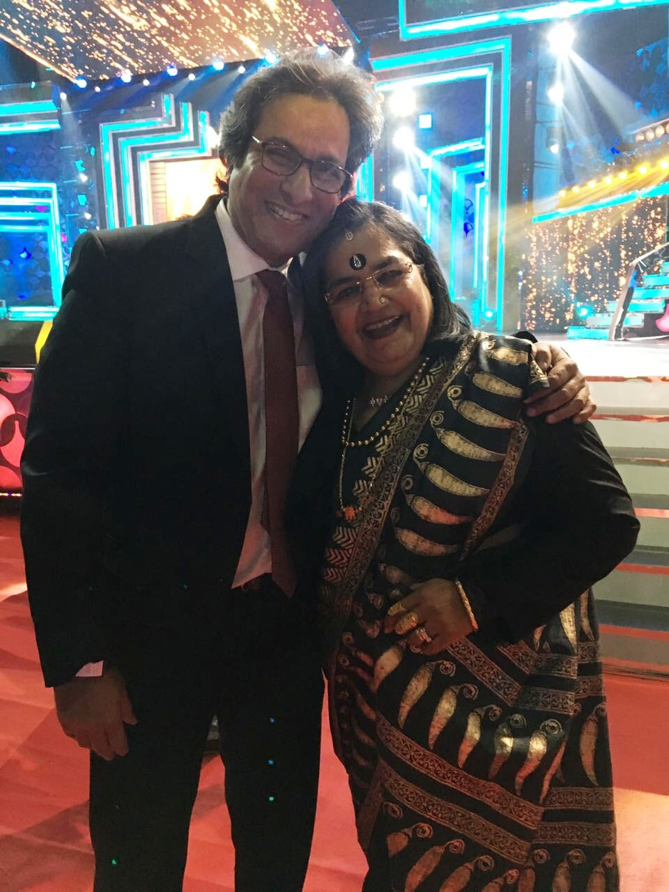 with Usha Uthup