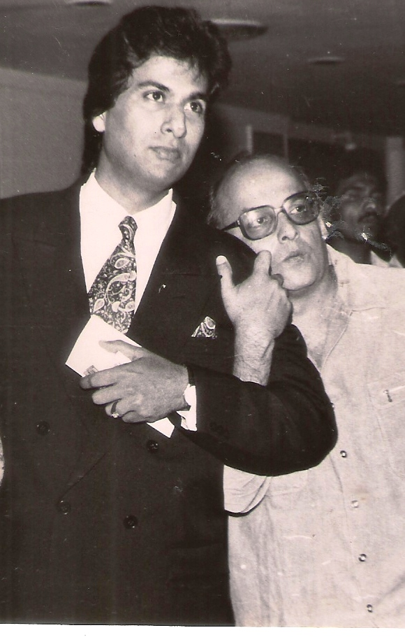 With Mahesh Bhatt 1991