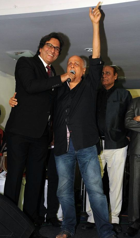 With Mahesh Bhatt 2015