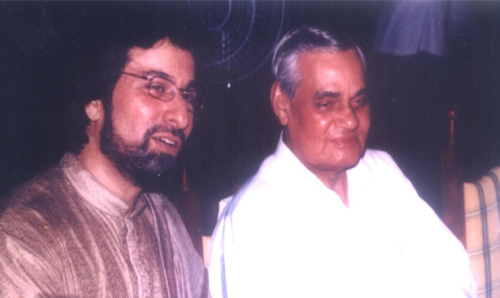 With the Hon. PM of India Shri Atal Behari Vajpayee Dec 31st 1999.