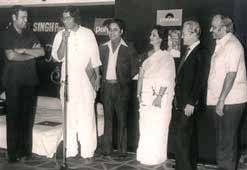 with Late Jagjit Singh at launch of his debut album February 8th 1980